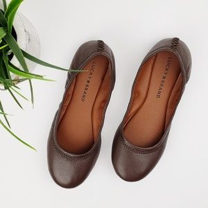 Lucky Brand // Emmie Ballet Flats Brown Size 6.5